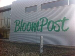 Bloompost Signing PD-Reklame