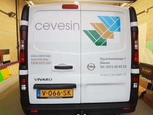 Cevesin autobelettering signing PD-Reklame