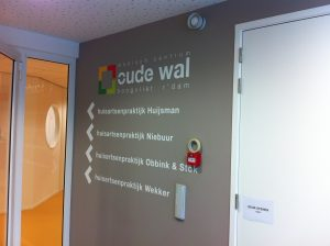Oude wal signing PD-Reklame