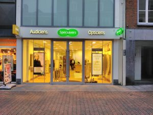 Specsavers lichtreclame signing PD-Reklame