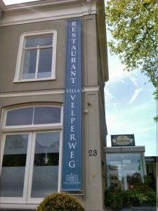 Villa velperweg Sign PD-Reklame