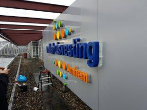 Volkshuisvesting Sign PD-Reklame