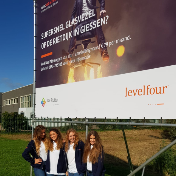spandoek levelfour